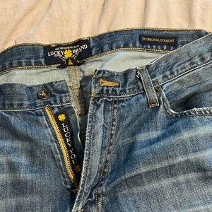Men's lucky jeans 36*32 original straight
